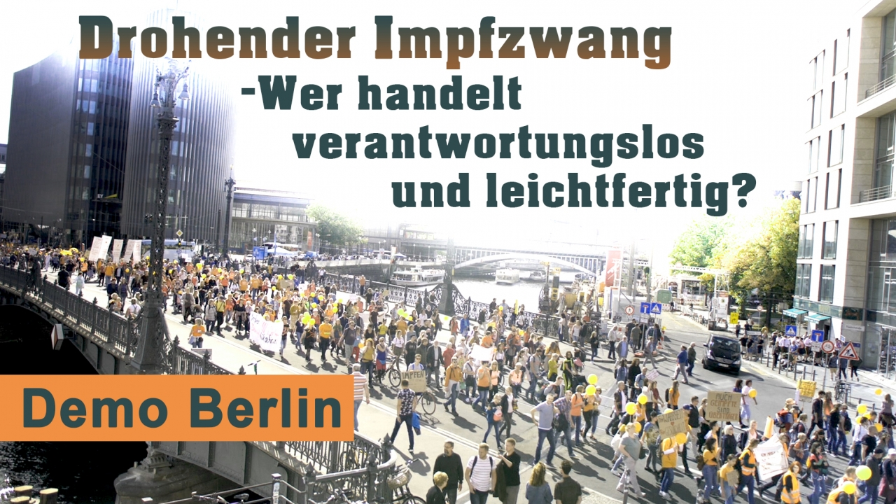Demo Berlin Impfen