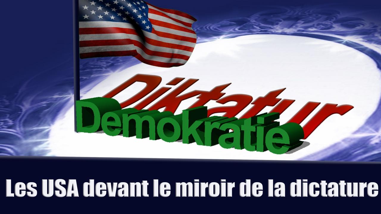 Les usa devant le miroir de la dictature fran ais for Miroir dans la boue