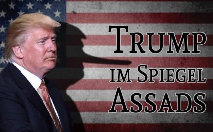Trump im spiegel assads politik medien klagemauer tv for Tv im spiegel