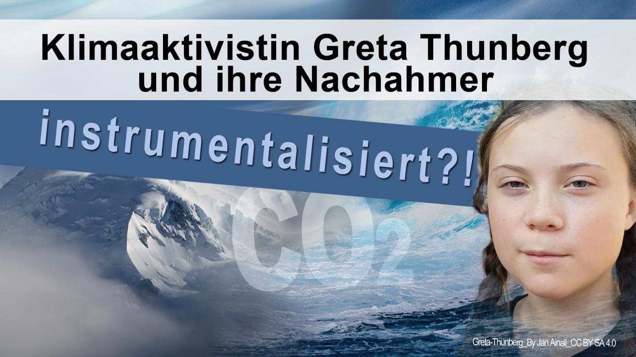 Greta Thunberg Wikipedia: Klimaaktivistin Greta Thunberg Und Ihre Nachahmer