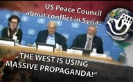 "US Peace Council states about conflict in Syria: ""The West is using massive propaganda!"""