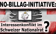 No-Billag-Initiative: Interessenkonflikt im Schweizer Nationalrat?