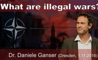 "What are illegal wars? Dr. Daniele Ganser 01.11.2016 ""Conversations in ..."