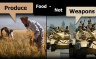 Produce Food - Not Weapons
