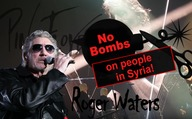 Roger Waters: No Bombs on people in Syria!