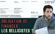 Obligation de financer les bellicistes ?