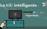 La télé intelligente : Amazon et Google regardent