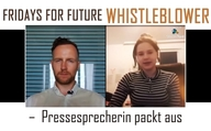 Fridays For Future Whistleblower – Pressesprecherin packt aus