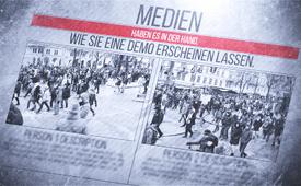 Medien haben es in der Hand, wie sie eine Demo erscheinen lassen und Der Pressekodex – Kriterien echter Qualitätsmedien