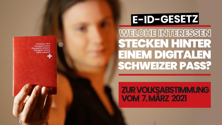 E-ID-Gesetz: Welche Interessen stecken hinter einem digitalen Schweizer Pass?