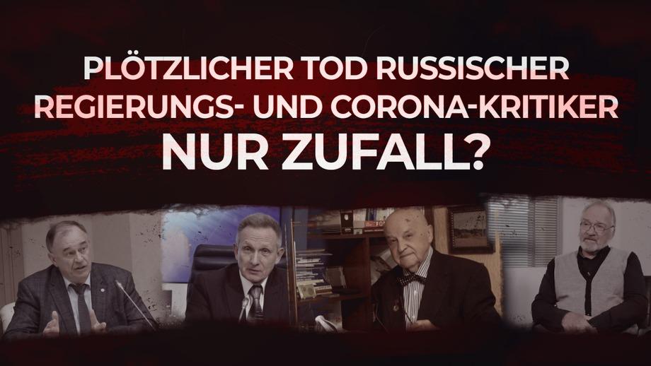 Plötzlicher Tod russischer Regierungs- und Corona-Kritiker nur Zufall?