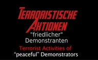 Terrorist Activities of peaceful Demonstrators