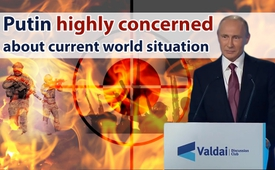Valdai Forum, 2016 - Putin highly concerned about current world situation