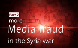 More media fraud in the Syria war