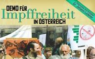 Demo für Impffreiheit in Österreich