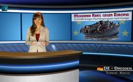 Guerra moderna: navi statunitensi portano masse di profughi in Europa