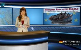 Razboi modern împotriva Europei: vapoare americane aduc mase de refugiati în Europa