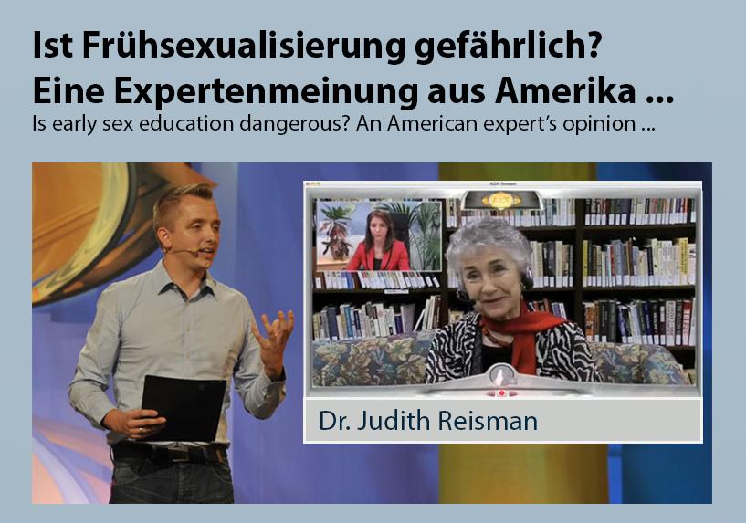 Ist Frühsexualisierung gefährlich? Eine Expertenmeinung aus Amerika ...