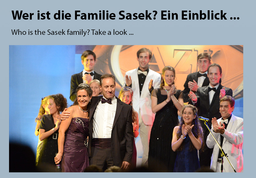 Wer ist die Familie Sasek? Ein Einblick ...